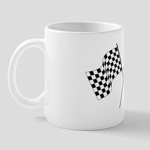 racing car flags Mug