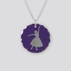 Giselle Necklace Circle Charm