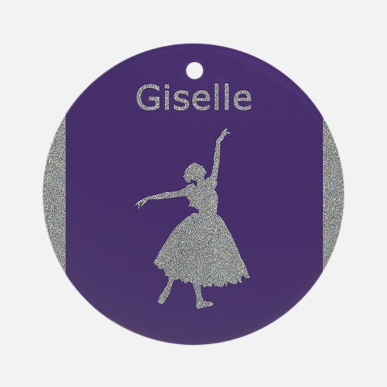 Giselle Ornament (Round)