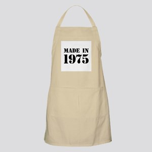 Made in 1975 Apron