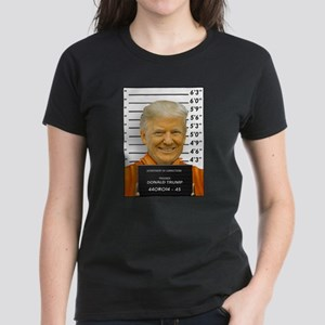 Trump Mugshot Photo Moron 45 T-Shirt
