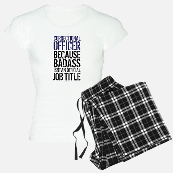 Correctional Officer Badass Pajamas