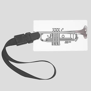 Trumpet Large Luggage Tag