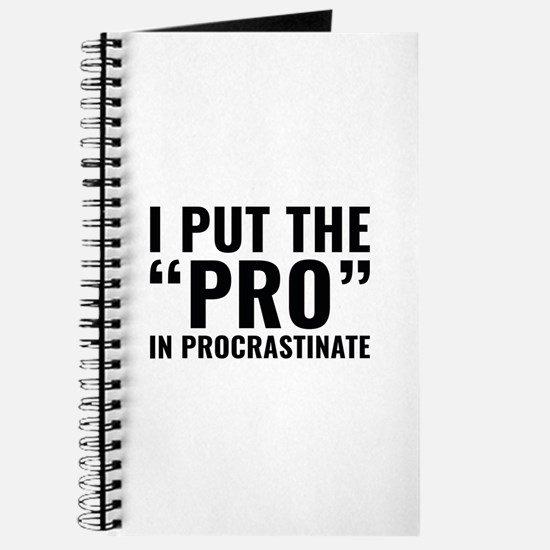 Pro In Procrastinate Journal