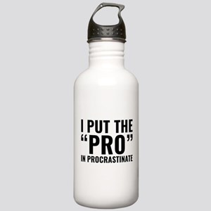 Pro In Procrastinate Stainless Water Bottle 1.0L