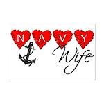 Navy Wife ver3  Mini Poster Print