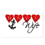 Navy Wife ver3 Postcards (Package of 8)