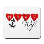 Navy Wife ver3 Mousepad