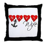 Navy Wife ver3  Throw Pillow