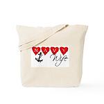 Navy Wife ver3  Tote Bag