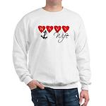 Navy Wife ver3 Sweatshirt