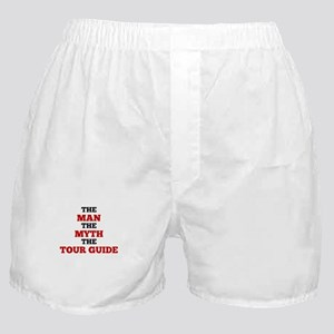 The Man The Myth The Tour Guide Boxer Shorts