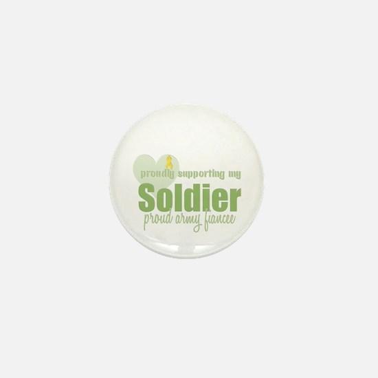 Proud Army Fiancee Mini Button