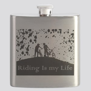 Riding is my life Flask