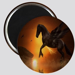 Pegasus Night Moon Magnet