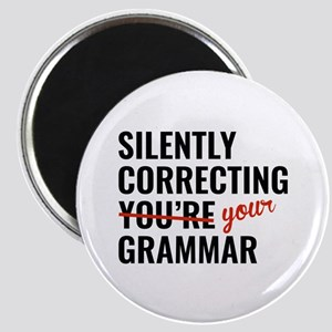 Silently Correcting You're Grammar Magnet