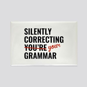 Silently Correcting You're Grammar Rectangle Magne