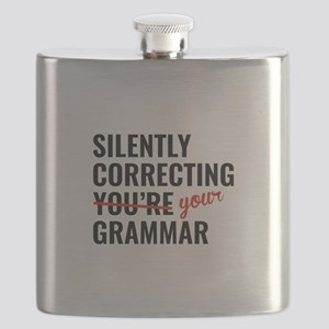Silently Correcting You're Grammar Flask