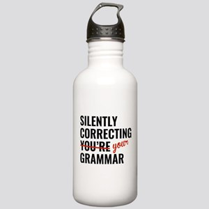 Silently Correcting You're Grammar Stainless Water