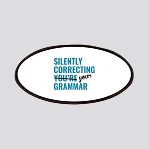 Silently Correcting You're Grammar Patches