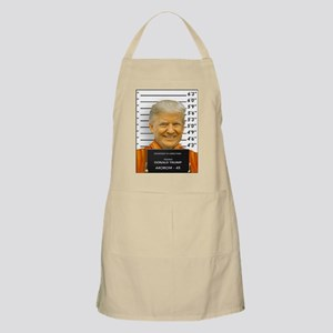 Trump Mugshot Photo Moron 45 Light Apron