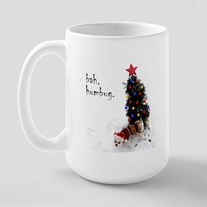 Bah humbug! Chihuahua Large Mug
