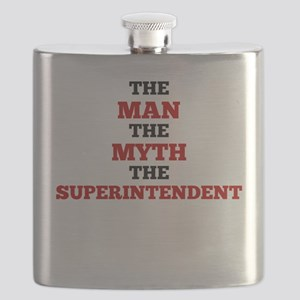 The Man The Myth The Superintendent Flask
