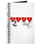 Navy Brat hearts Journal