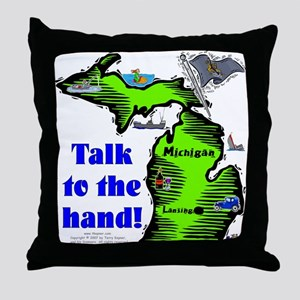 MI-Talk! Throw Pillow