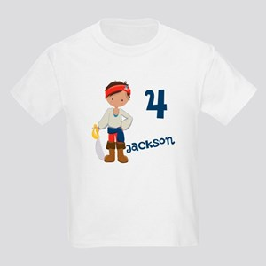 Pirate Boy Kids Light T-Shirt