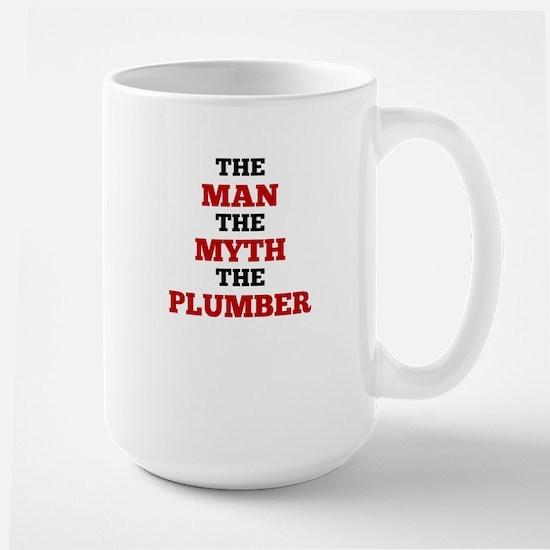 The Man The Myth The Plumber Mugs