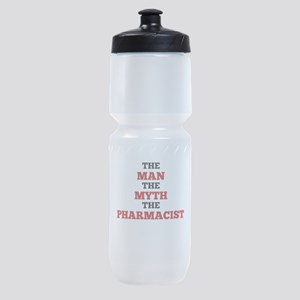 The Man The Myth The Pharmacist Sports Bottle