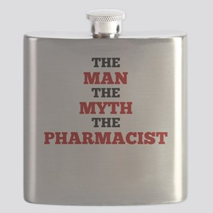 The Man The Myth The Pharmacist Flask