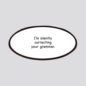 I'm Silently Correcting Your Grammar Patches