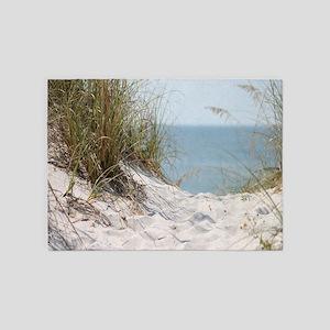Sandy Beach Willows 5'x7'Area Rug