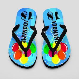 Trendy 18th Flip Flops