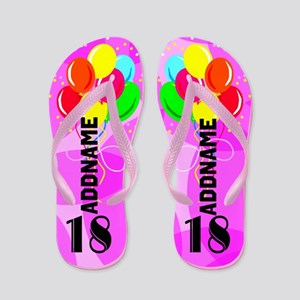 Stylish 18th Flip Flops