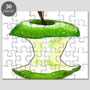Green Apple Core Puzzle