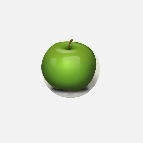 Green Apple Mini Button
