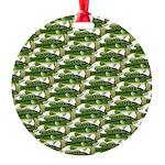 Largemouth Bass Pattern Ornament