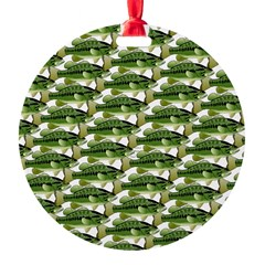 Largemouth Bass Pattern Ornament