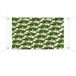 Largemouth Bass Pattern Banner