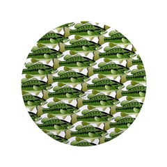 Largemouth Bass Pattern Button