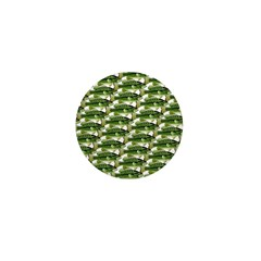 Largemouth Bass Pattern Mini Button (100 pack)