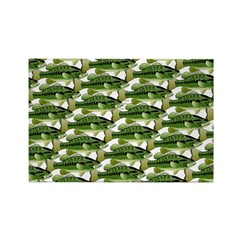 Largemouth Bass Pattern Magnets