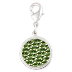 Largemouth Bass Pattern Charms