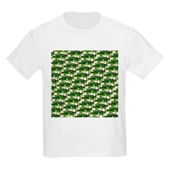 Largemouth Bass Pattern T-Shirt