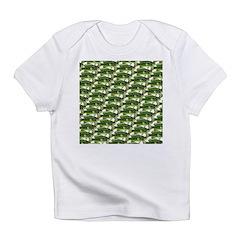 Largemouth Bass Pattern Infant T-Shirt