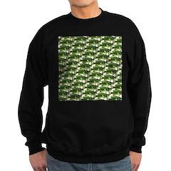 Largemouth Bass Pattern Sweatshirt