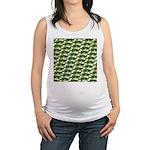 Largemouth Bass Pattern Maternity Tank Top